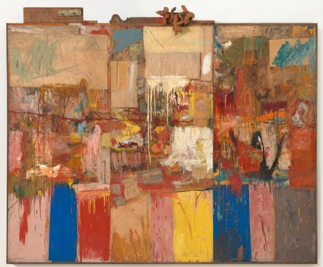 Robert Rauschenberg, Collection, 1954-1955