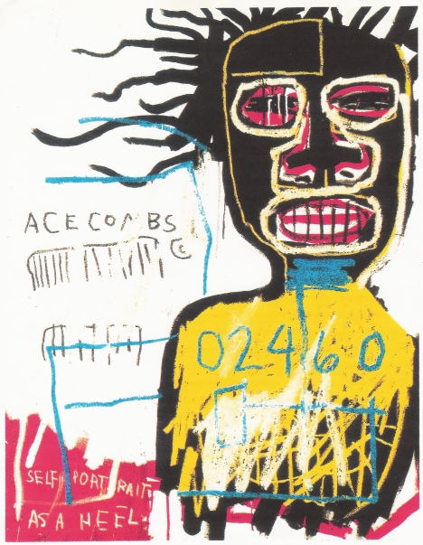 BASQUIAT, Self portrait