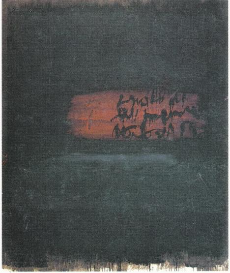 DEGOTTEX, Suite obscure (VII), 1964