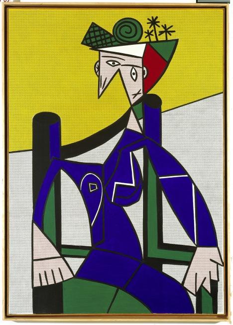 Roy Lichtenstein, Femme dans un fauteuil, 1963