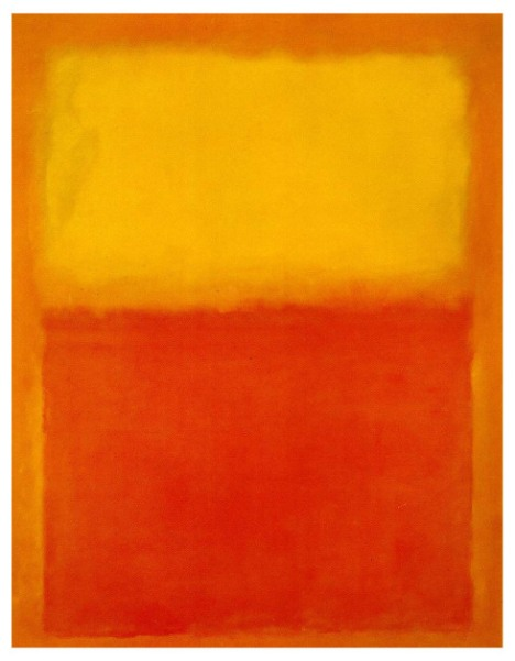 Orange & Yellow, Mark Rothko, 1956
