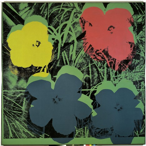 Andy Warhol,Ten-Foot Flowers,1967